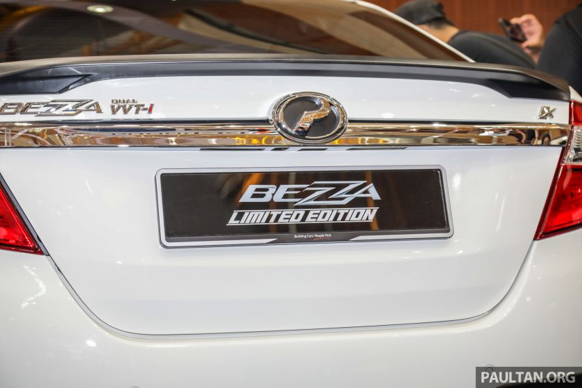 Perodua Bezza Limited Edition launched, RM44,890 Image #945311