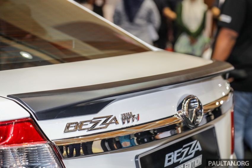 Perodua Bezza Limited Edition launched, RM44,890 Image #945313