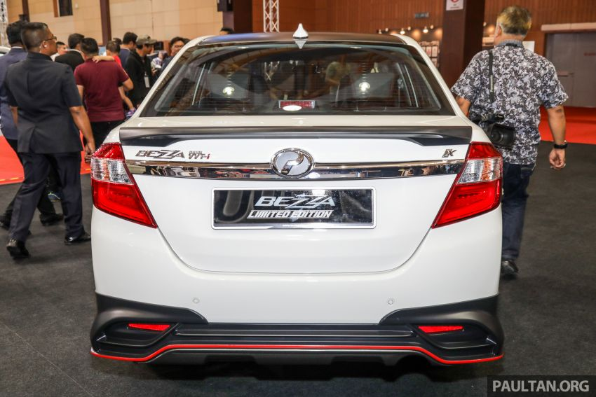 Perodua Bezza Limited Edition launched, RM44,890 Image #945295
