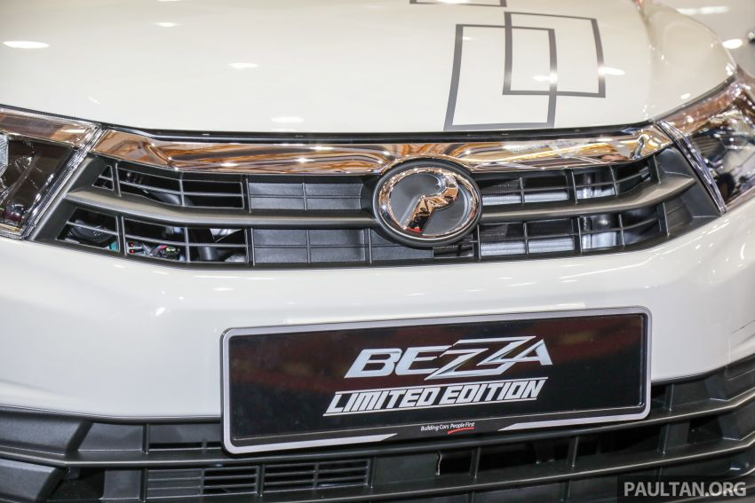 Perodua Bezza Limited Edition launched, RM44,890 Image #945299