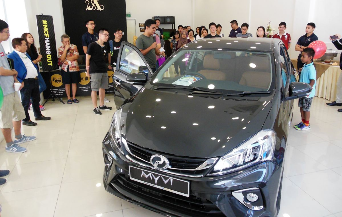 Perodua Myvi launched in Singapore, from RM197k