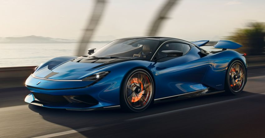 Pininfarina Battista – 1,900 hp, 2,300 Nm pure electric hyper GT; 0-100 km/h in under 2 secs, 150 units only Image #943419