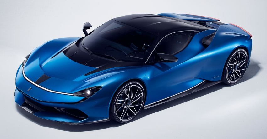 Pininfarina Battista – 1,900 hp, 2,300 Nm pure electric hyper GT; 0-100 km/h in under 2 secs, 150 units only Image #943434