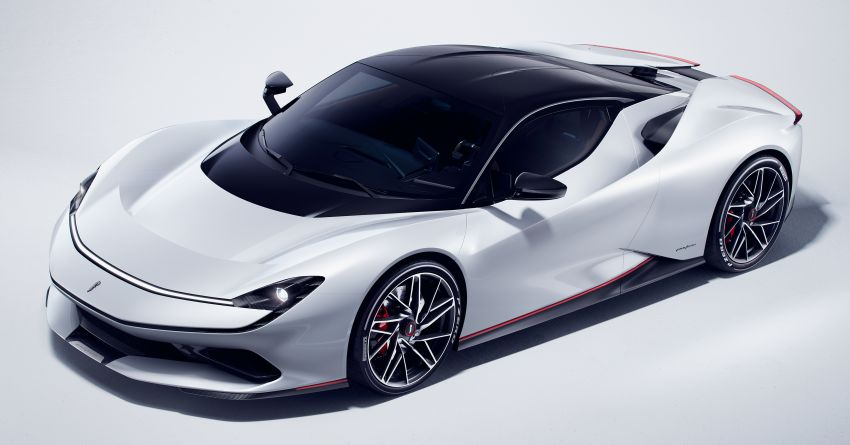 Pininfarina Battista – 1,900 hp, 2,300 Nm pure electric hyper GT; 0-100 km/h in under 2 secs, 150 units only Image #943435