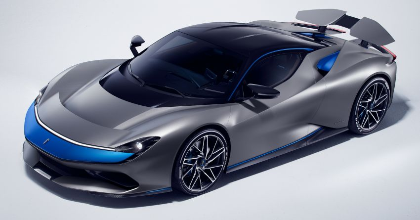 Pininfarina Battista – 1,900 hp, 2,300 Nm pure electric hyper GT; 0-100 km/h in under 2 secs, 150 units only Image #943436