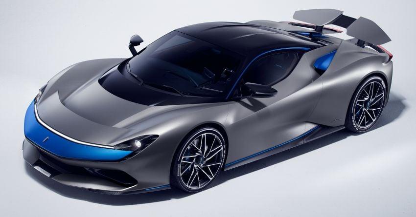 Pininfarina Battista – 1,900 hp, 2,300 Nm pure electric hyper GT; 0-100 km/h in under 2 secs, 150 units only Image #943436