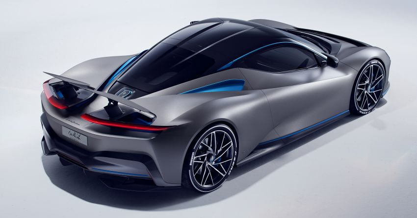 Pininfarina Battista – 1,900 hp, 2,300 Nm pure electric hyper GT; 0-100 km/h in under 2 secs, 150 units only Image #943438