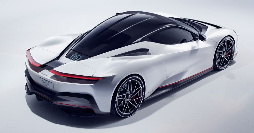 Pininfarina Battista – 1,900 hp, 2,300 Nm pure electric hyper GT; 0-100 km/h in under 2 secs, 150 units only Image #943439