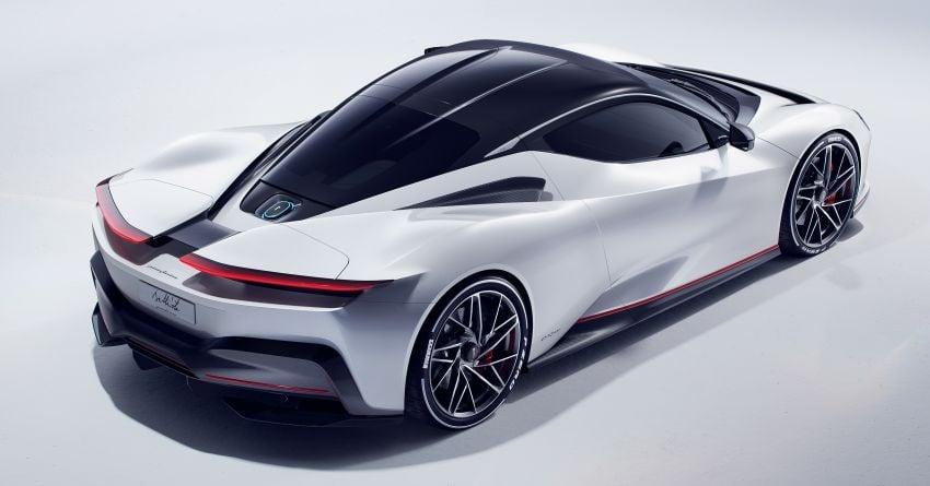 Pininfarina Battista – 1,900 hp, 2,300 Nm pure electric hyper GT; 0-100 km/h in under 2 secs, 150 units only Image #943439