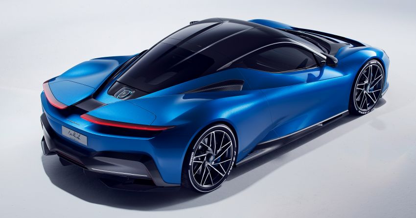 Pininfarina Battista – 1,900 hp, 2,300 Nm pure electric hyper GT; 0-100 km/h in under 2 secs, 150 units only Image #943440