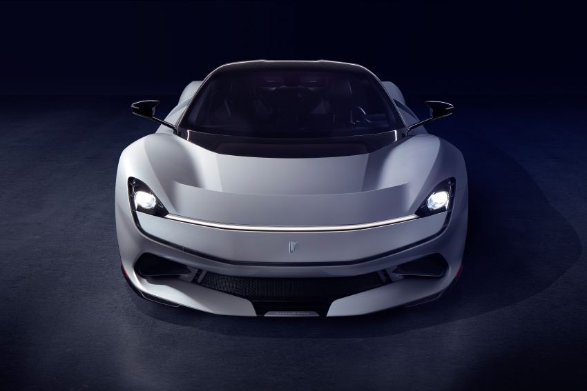 Pininfarina Battista – 1,900 hp, 2,300 Nm pure electric hyper GT; 0-100 km/h in under 2 secs, 150 units only Image #943420