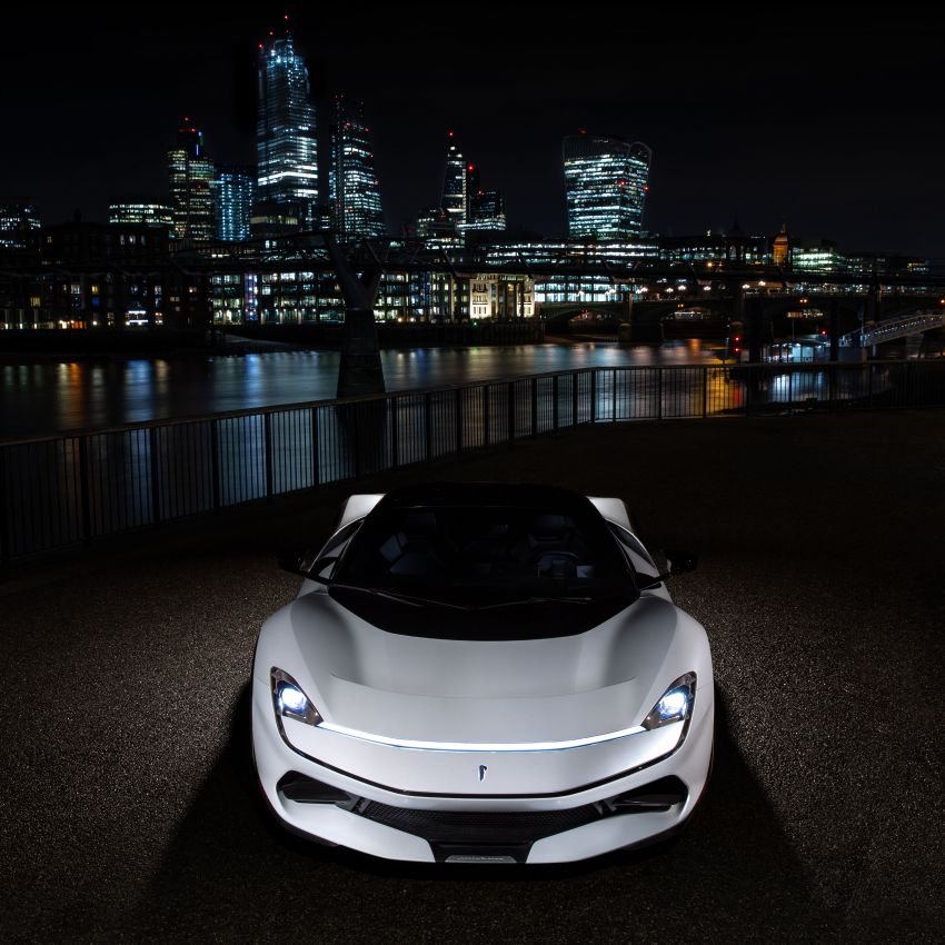Pininfarina Battista – 1,900 hp, 2,300 Nm pure electric hyper GT; 0-100 km/h in under 2 secs, 150 units only Image #943443
