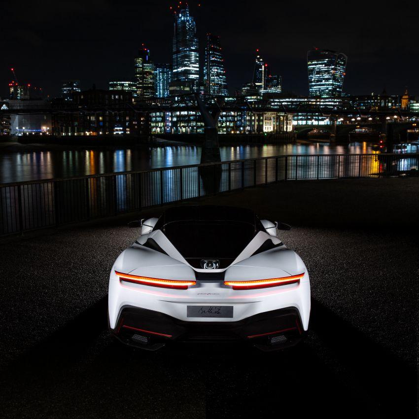 Pininfarina Battista – 1,900 hp, 2,300 Nm pure electric hyper GT; 0-100 km/h in under 2 secs, 150 units only Image #943444