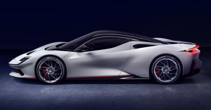 Pininfarina Battista – 1,900 hp, 2,300 Nm pure electric hyper GT; 0-100 km/h in under 2 secs, 150 units only Image #943421