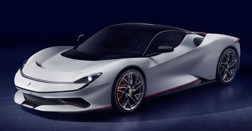 Pininfarina Battista – 1,900 hp, 2,300 Nm pure electric hyper GT; 0-100 km/h in under 2 secs, 150 units only Image #943422