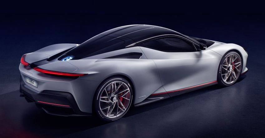 Pininfarina Battista – 1,900 hp, 2,300 Nm pure electric hyper GT; 0-100 km/h in under 2 secs, 150 units only Image #943423