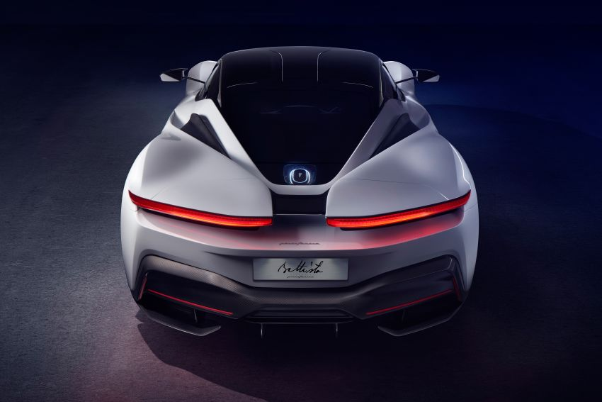 Pininfarina Battista – 1,900 hp, 2,300 Nm pure electric hyper GT; 0-100 km/h in under 2 secs, 150 units only Image #943424