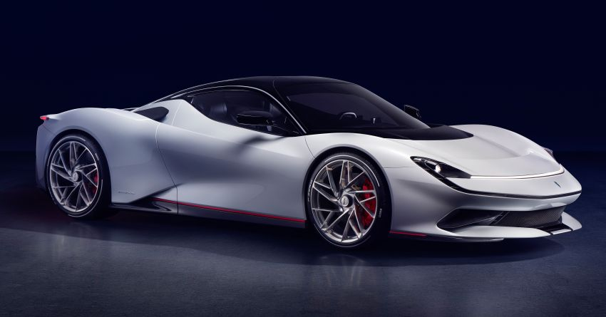 Pininfarina Battista – 1,900 hp, 2,300 Nm pure electric hyper GT; 0-100 km/h in under 2 secs, 150 units only Image #943426