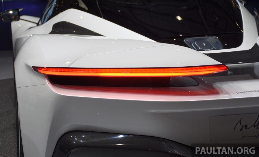 Pininfarina Battista – 1,900 hp, 2,300 Nm pure electric hyper GT; 0-100 km/h in under 2 secs, 150 units only Image #943408