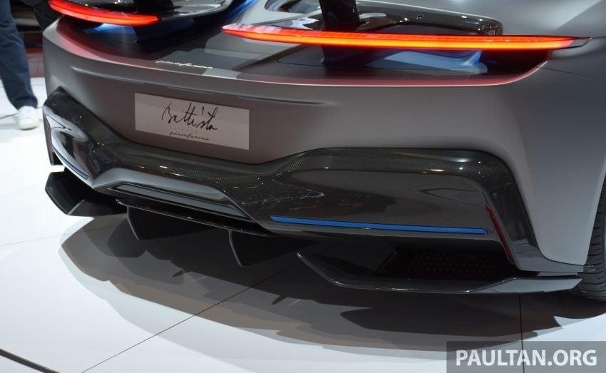 Pininfarina Battista – 1,900 hp, 2,300 Nm pure electric hyper GT; 0-100 km/h in under 2 secs, 150 units only Image #943411