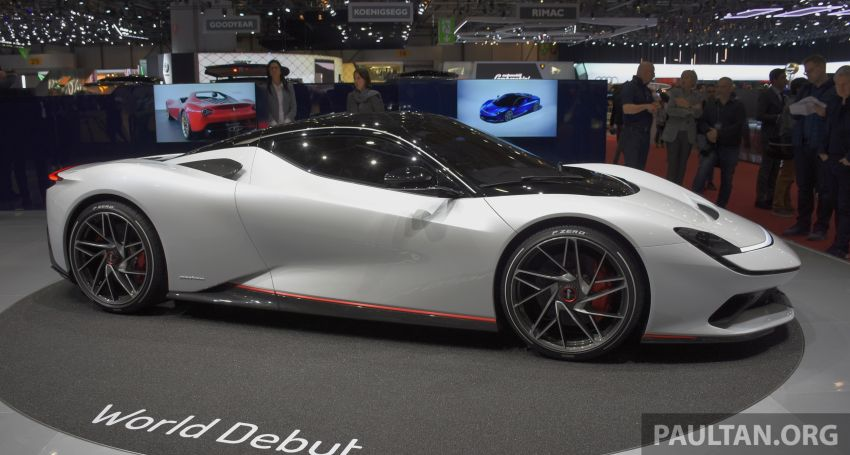 Pininfarina Battista – 1,900 hp, 2,300 Nm pure electric hyper GT; 0-100 km/h in under 2 secs, 150 units only Image #943399