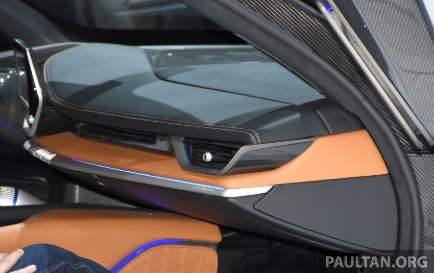 Pininfarina Battista – 1,900 hp, 2,300 Nm pure electric hyper GT; 0-100 km/h in under 2 secs, 150 units only Image #943417