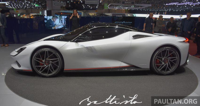 Pininfarina Battista – 1,900 hp, 2,300 Nm pure electric hyper GT; 0-100 km/h in under 2 secs, 150 units only Image #943401
