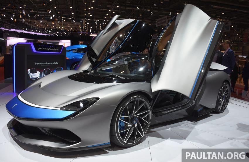 Pininfarina Battista – 1,900 hp, 2,300 Nm pure electric hyper GT; 0-100 km/h in under 2 secs, 150 units only Image #943402