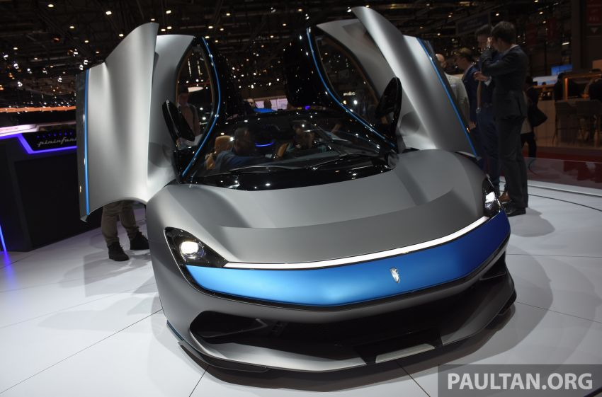 Pininfarina Battista – 1,900 hp, 2,300 Nm pure electric hyper GT; 0-100 km/h in under 2 secs, 150 units only Image #943403