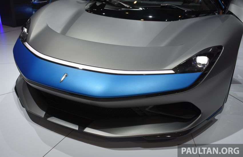 Pininfarina Battista – 1,900 hp, 2,300 Nm pure electric hyper GT; 0-100 km/h in under 2 secs, 150 units only Image #943404
