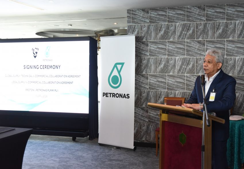 Proton extends partnership with Petronas by 10 years Image #946743