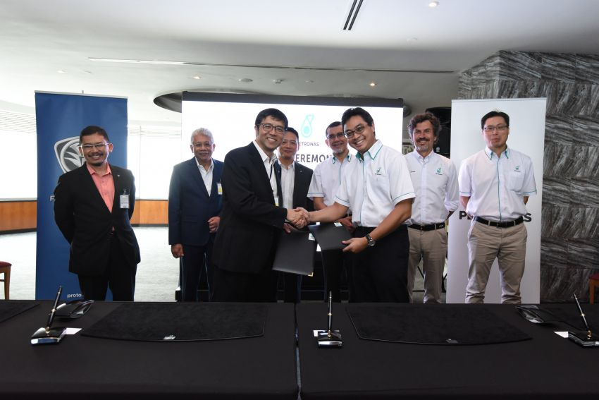 Proton extends partnership with Petronas by 10 years Image #946744