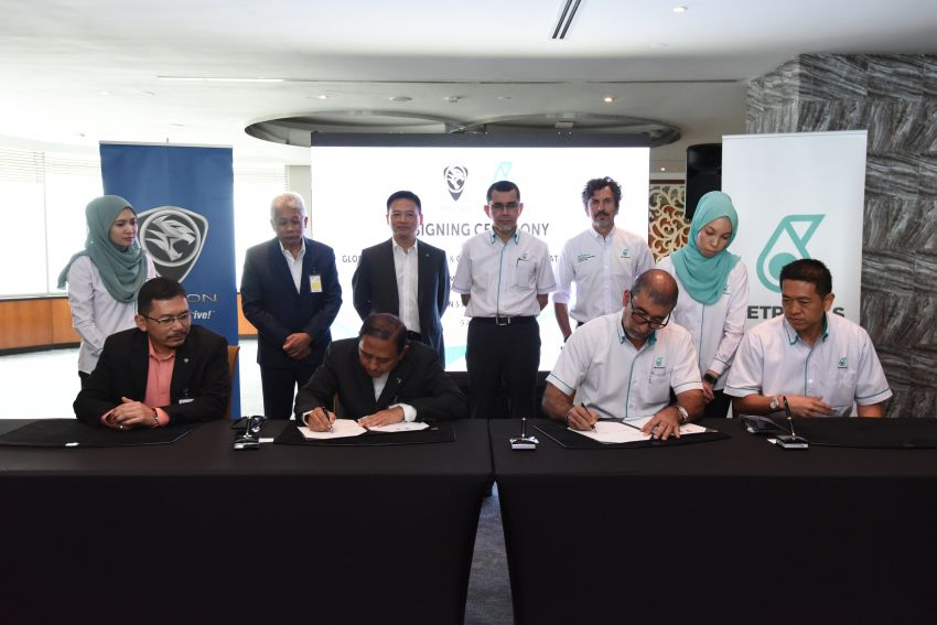 Proton extends partnership with Petronas by 10 years Image #946745