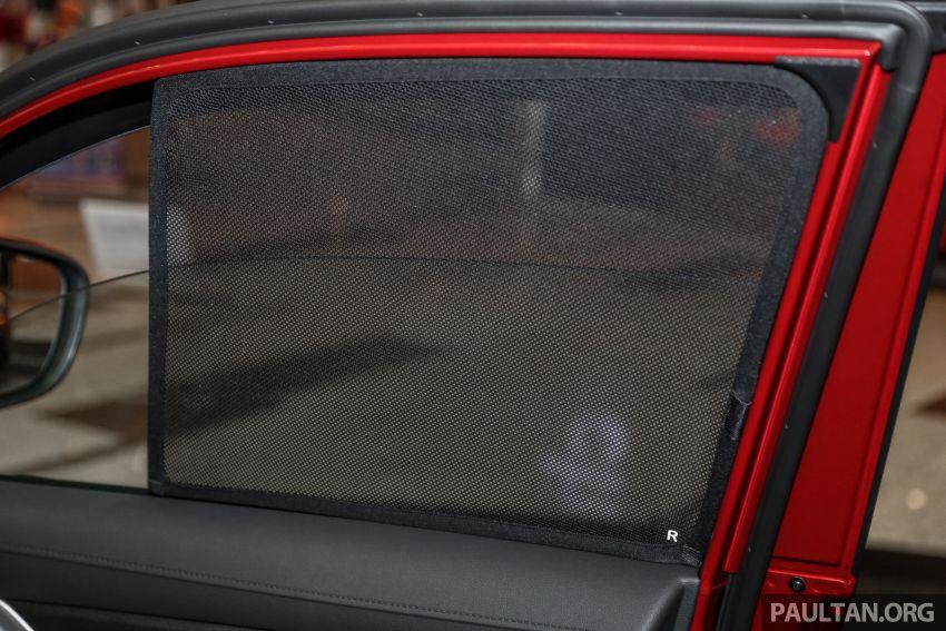 Proton X70 – aksesori asli luar dan dalam kini dijual Image #951339
