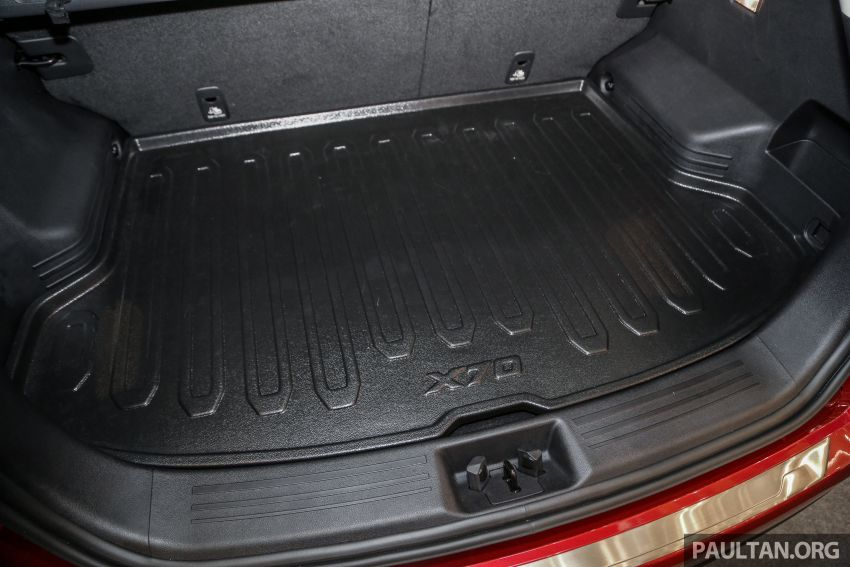 Official Proton X70 accessories for exterior and cabin Image #951095