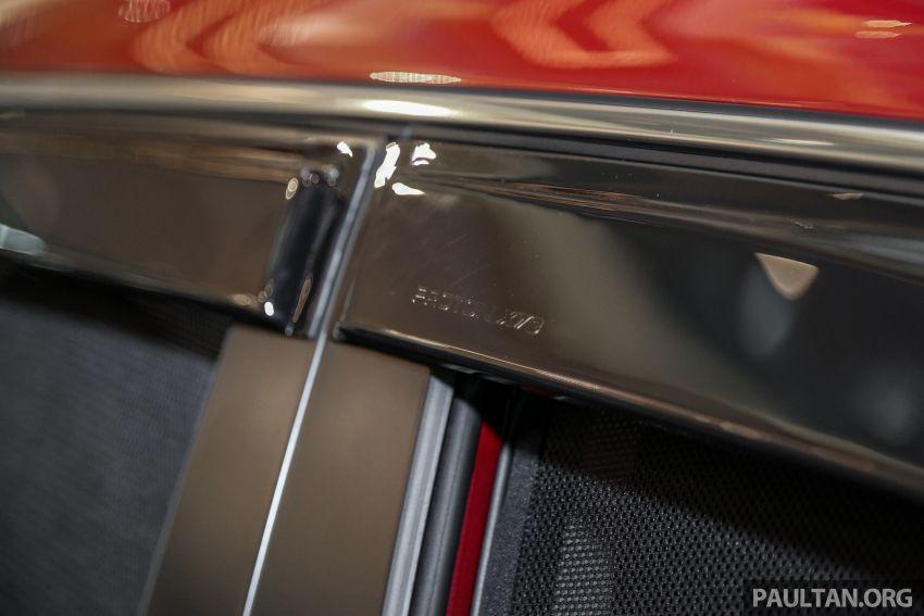 Proton X70 – aksesori asli luar dan dalam kini dijual Image #951330