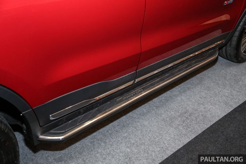Official Proton X70 accessories for exterior and cabin Image #951083