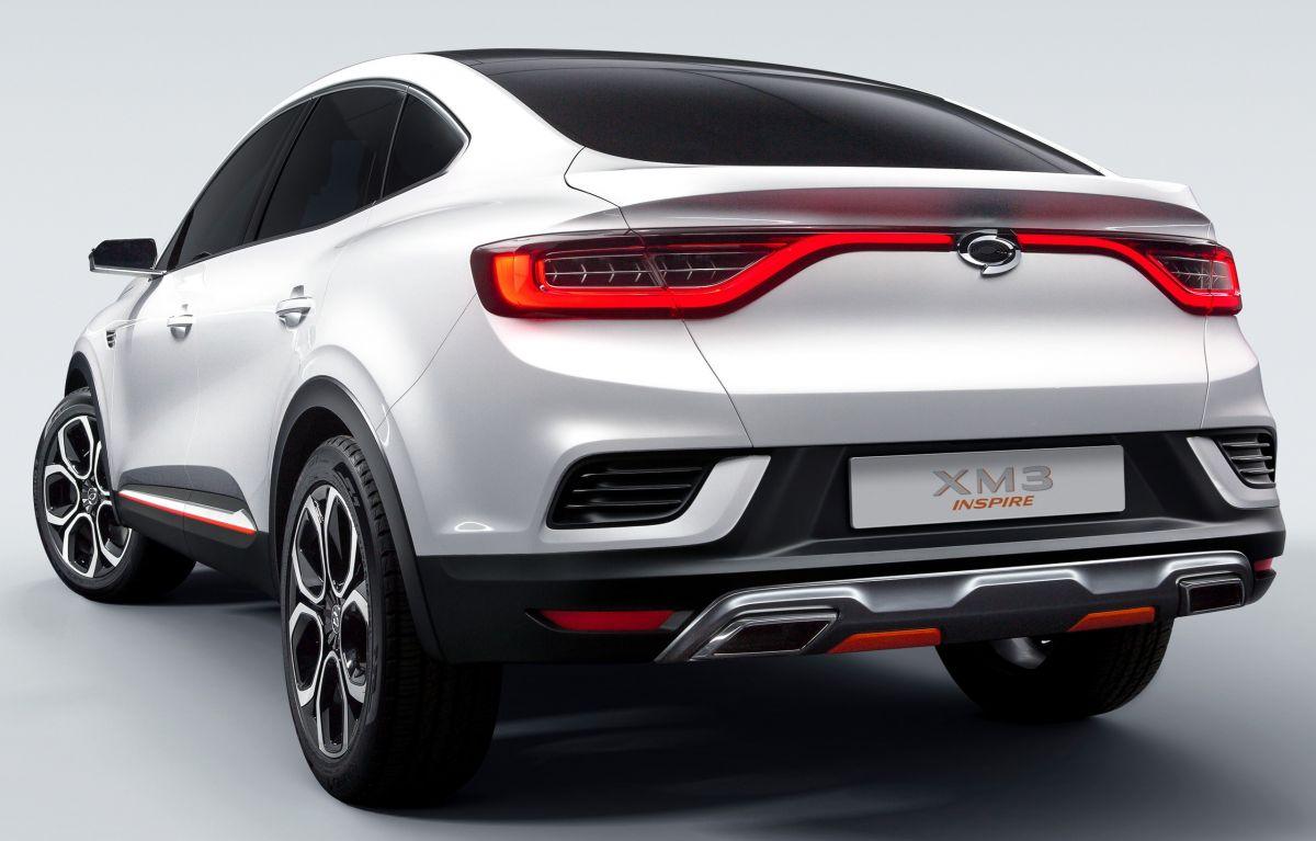 Renault Samsung Motors XM3 Inspire – SUV Coupe yang akan dijual di Korea Selatan pada tahun 2020