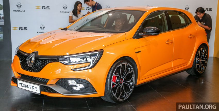 New Renault Megane RS 280 Cup previewed in Malaysia – manual and dual-clutch, from RM280k Image #951936