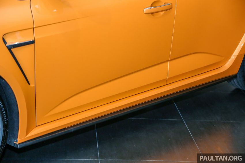 Renault Megane RS 280 Cup serba baharu dipertonton di Malaysia – manual dan auto, bermula dari RM280k Image #951905