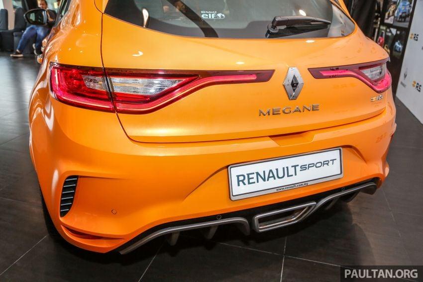 Renault Megane RS 280 Cup serba baharu dipertonton di Malaysia – manual dan auto, bermula dari RM280k Image #951908