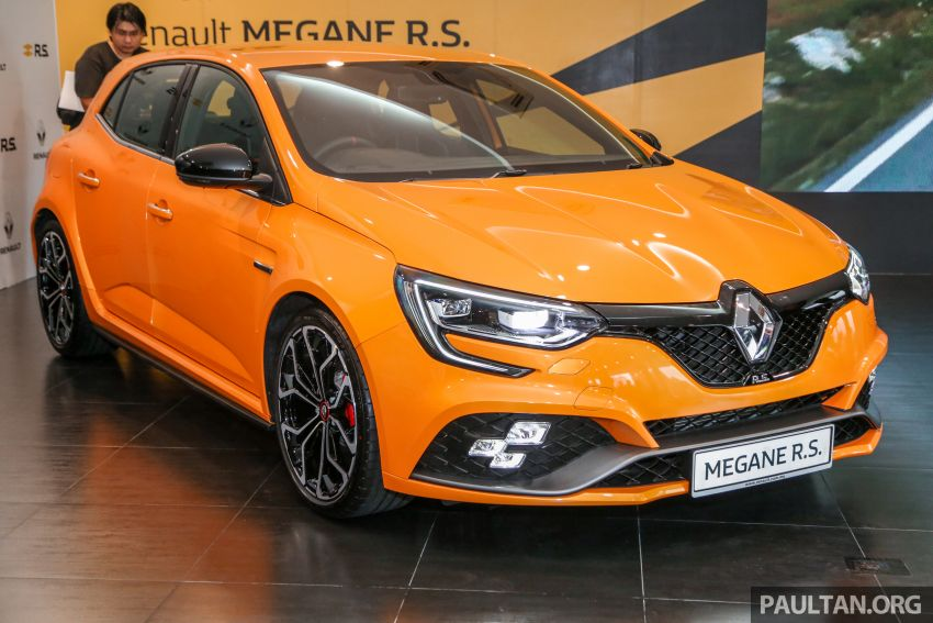 New Renault Megane RS 280 Cup previewed in Malaysia – manual and dual-clutch, from RM280k Image #951938
