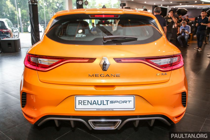 New Renault Megane RS 280 Cup previewed in Malaysia – manual and dual-clutch, from RM280k Image #951942