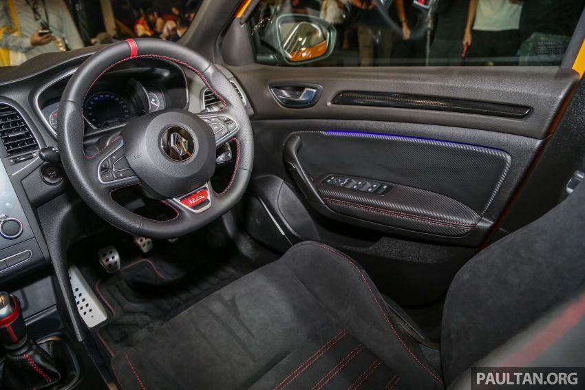 Renault Megane RS 280 Cup serba baharu dipertonton di Malaysia – manual dan auto, bermula dari RM280k Image #951935