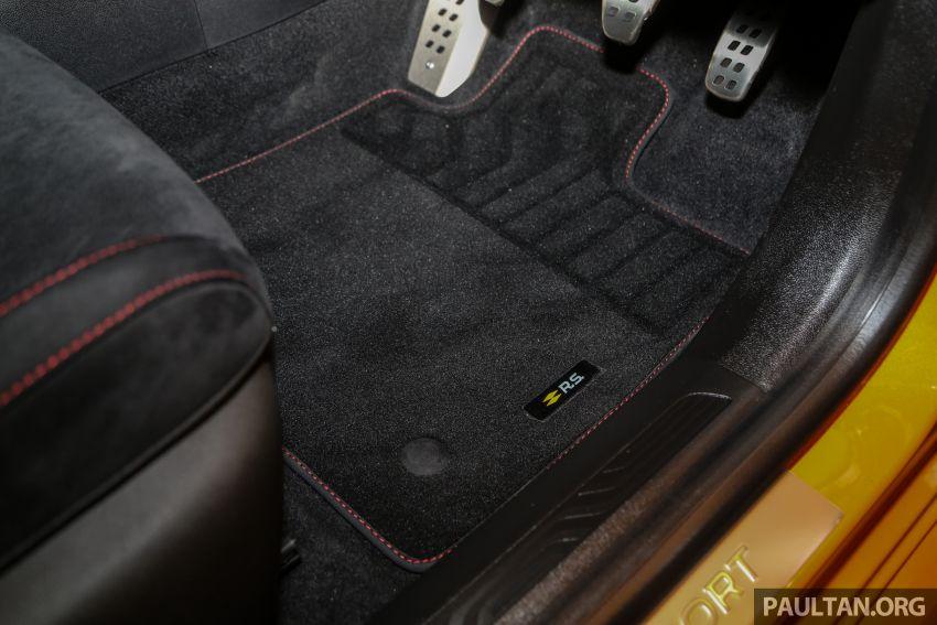 Renault Megane RS 280 Cup serba baharu dipertonton di Malaysia – manual dan auto, bermula dari RM280k Image #951957