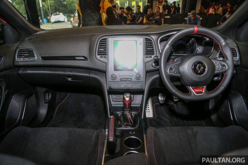 Renault Megane RS 280 Cup serba baharu dipertonton di Malaysia – manual dan auto, bermula dari RM280k Image #951918