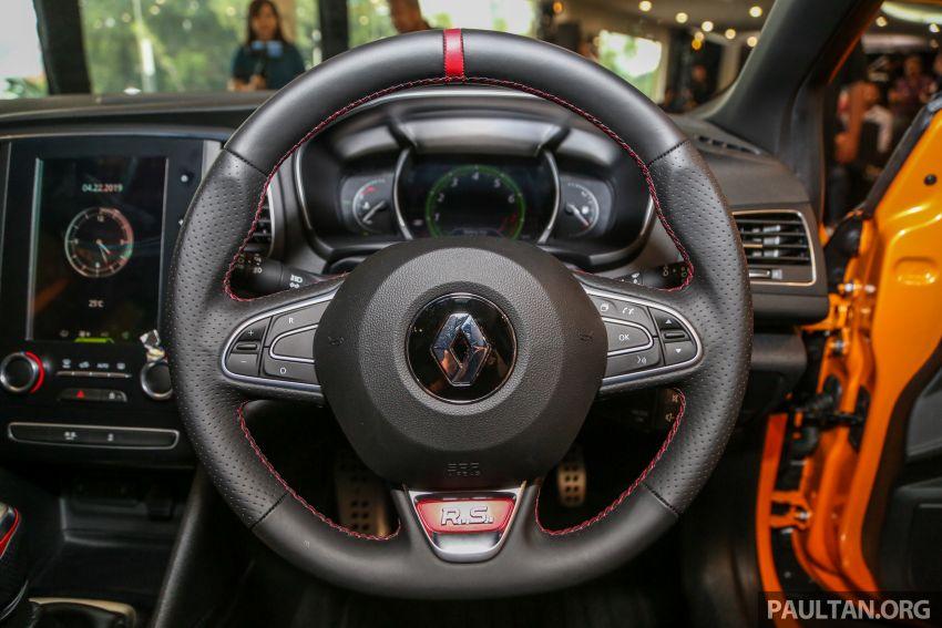 Renault Megane RS 280 Cup serba baharu dipertonton di Malaysia – manual dan auto, bermula dari RM280k Image #951919