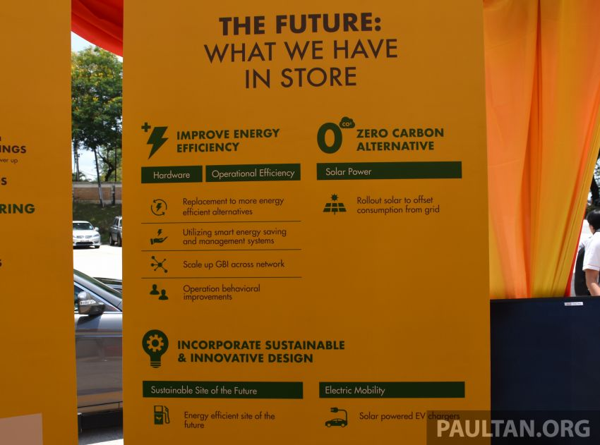 Shell Malaysia begins upgrading its fuel stations to become greener with new energy savings measures Image #942033