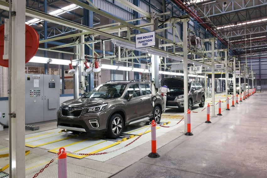 Tan Chong Subaru Automotive (Thailand) launched – produces new Subaru Forester for Malaysian market Image #952424