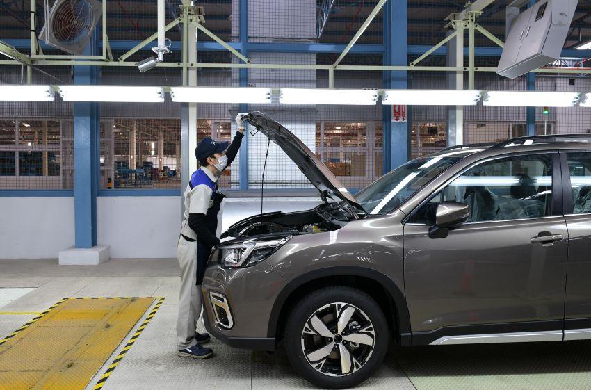 Tan Chong Subaru Automotive (Thailand) launched – produces new Subaru Forester for Malaysian market Image #952426